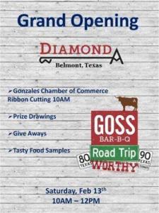 Grand Opening & Ribbon Cutting Ceremony: Diamond A @ Diamond A | Kingsbury | Texas | United States