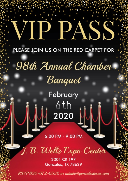 Gonzales Texas Christmas Parade 2020 98th Annual Chamber Banquet – Gonzales Chamber of Commerce